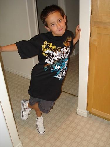 Sai first day of third grade