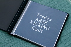 """""""Trudy's Arse Kicking Quilt"""" Book"""