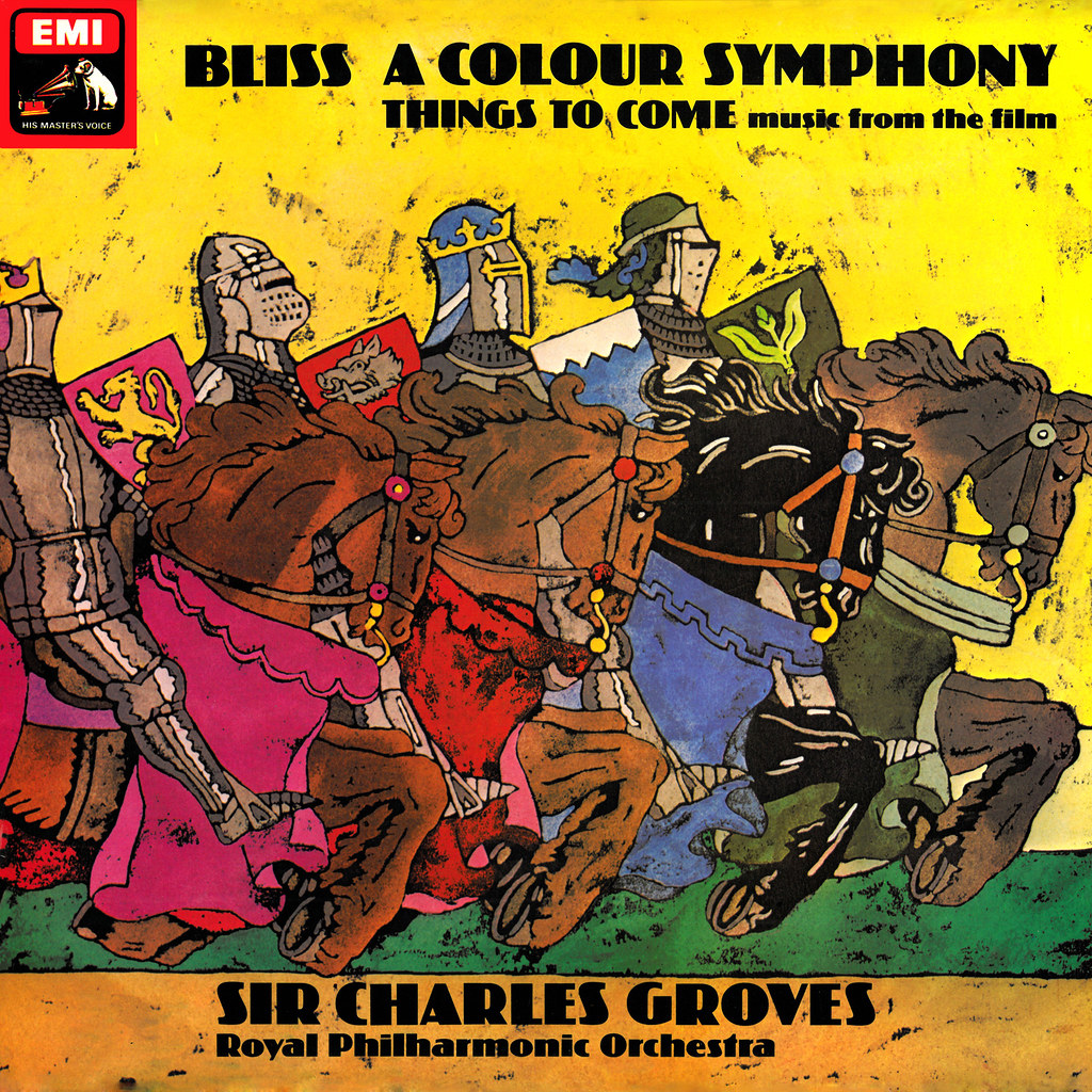 Arthur Bliss - A Color Symphony / Things to Come