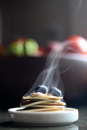 Hello there, tiny pancakes