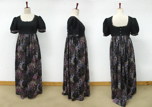 long empire waist dress
