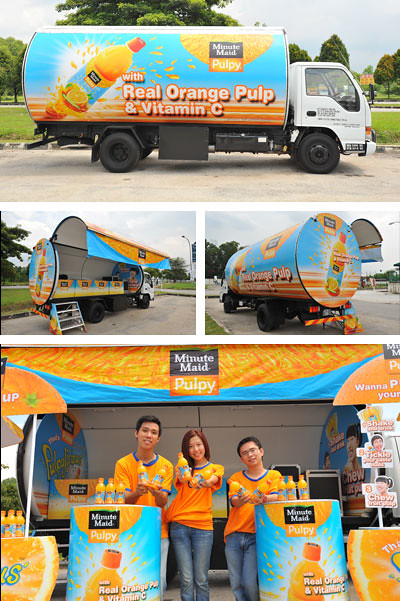 Minute Maid Pulpy Truck