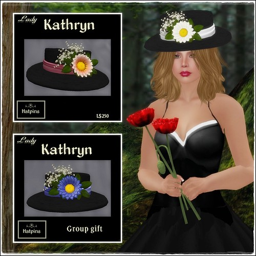 Hatpins - Lady Kathryn