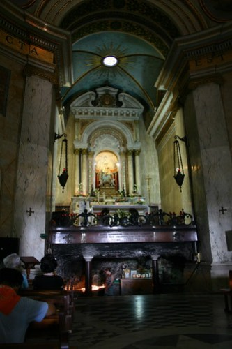 Templar's Church, Mount Carmel
