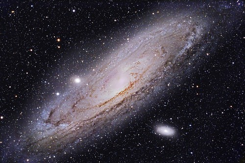 """M31 Andromeda Galaxy (NGC 224) """"Explore"""" by Terry Hancock www.downunderobservatory.com"""