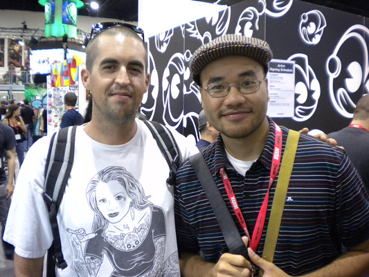 Me and The Amazing Andrew Hem