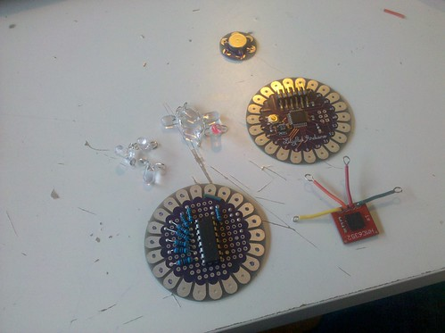 compass hat parts