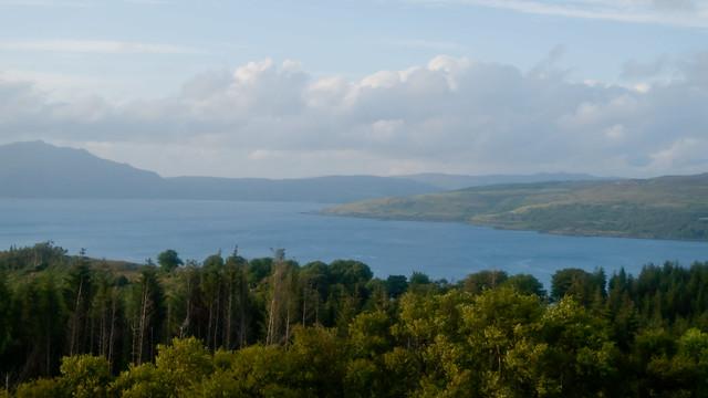 View to Ardnamurchan