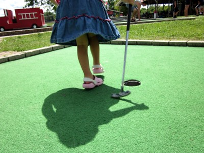 Golfing Girl
