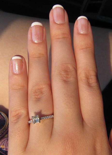 French Manicure - Colorama Diamond Love