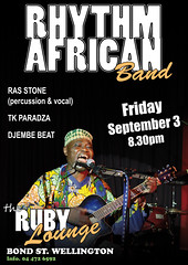Rhythm African Band - Ruby Lounge
