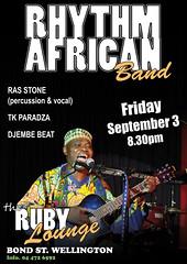 Rhythm African Band - Ruby Lounge