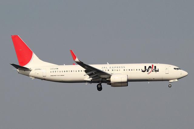 JAL B737-800(JA330J)
