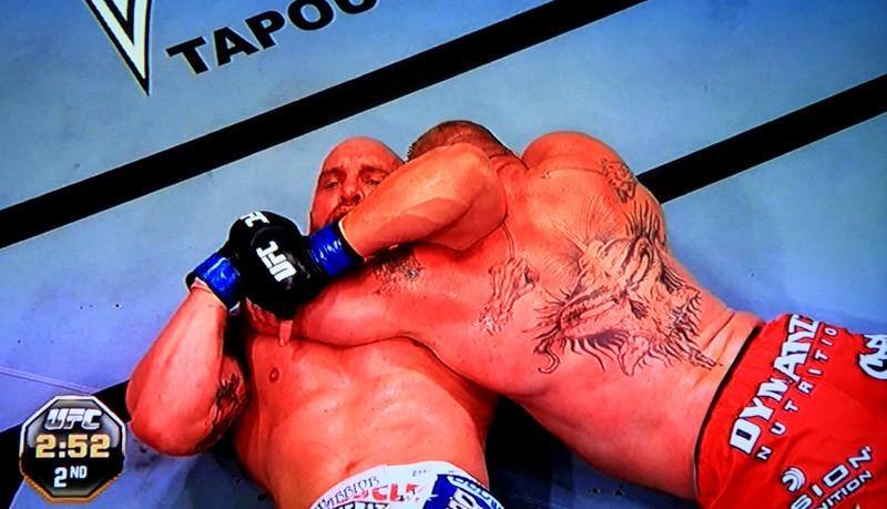 Brock Lesnar Choke