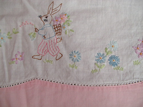 detail embroidery right center