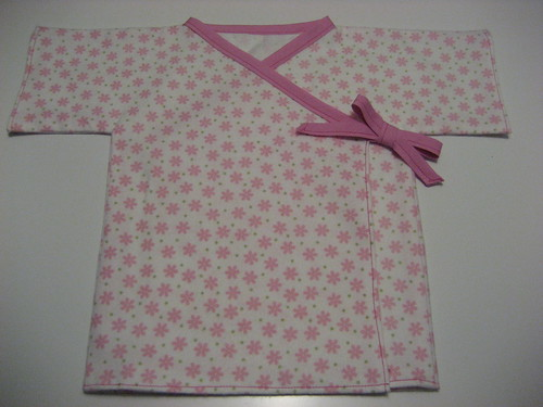 Sewing Project #4 - Baby Kimono 1