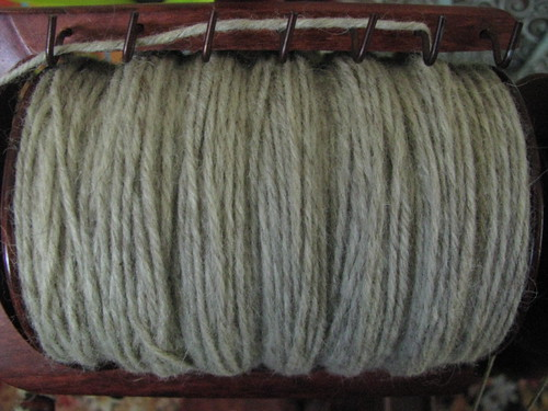 Natural Domestic Wool 4-Ply Handspun