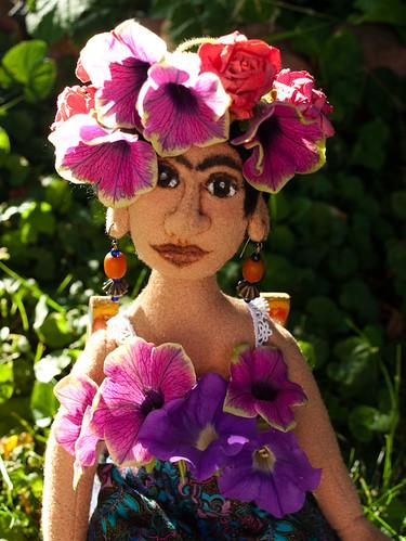 Frida Rosarita Kahlo Official Birthday Portrait