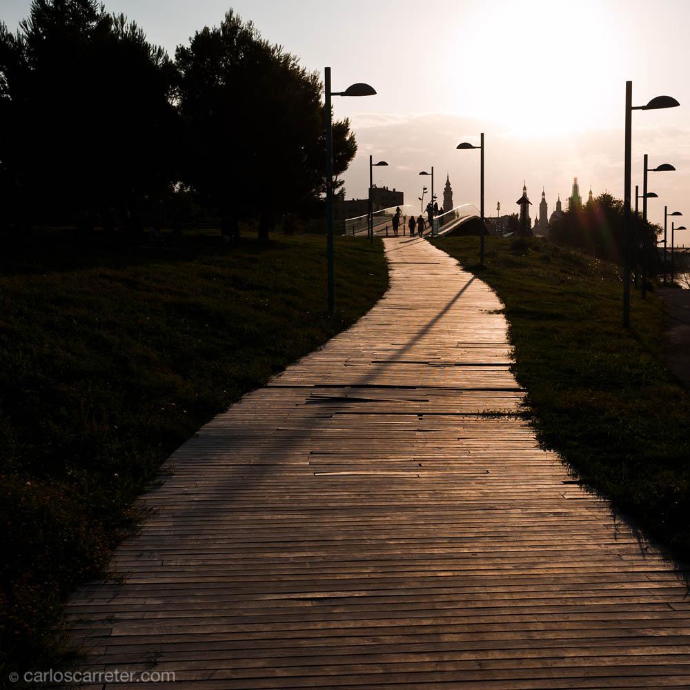 Paseo en el parque