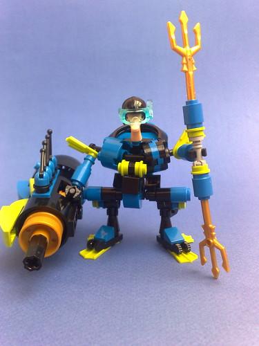 """""""TRITON"""" aquatic hardsuit"""