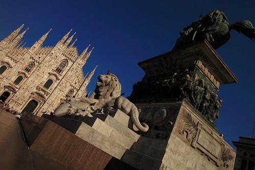 Piazza del Duomo @ Milano, Italy