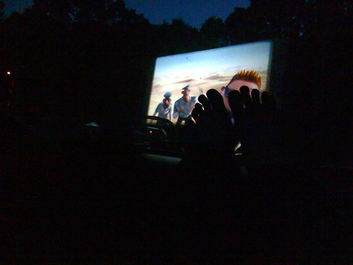 At the Drive-In...