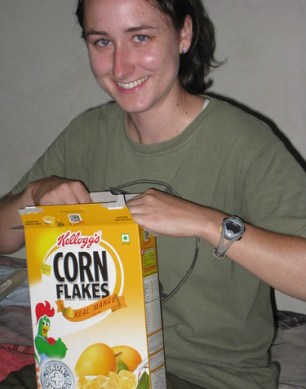 Mango flavored Corn Flakes
