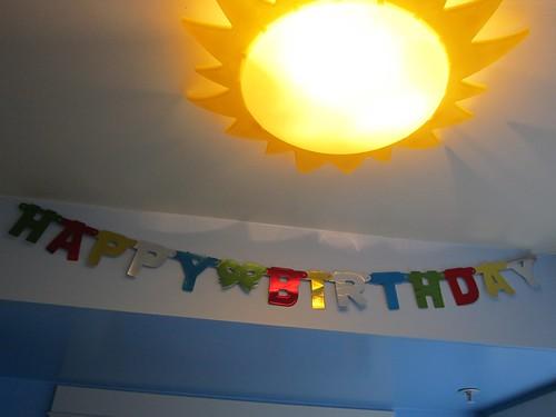 Old Happy Birthday Sign