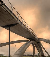 The Da Vinci bridge