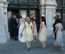 World' Of Barefoot And Bridesmaids