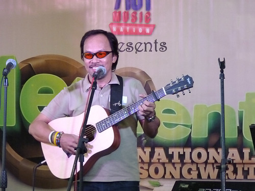 Noel Cabangon at the launching of Elements (1st National Songwriting Camp)