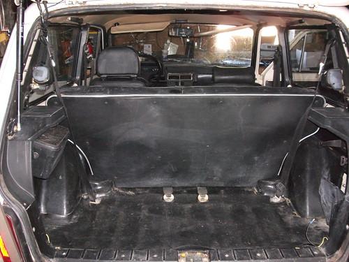 Rear seat in
