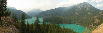 Diablo Lake Panorama