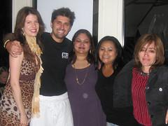 Julia, Wasima, Donna, Sofia w/ Ludo