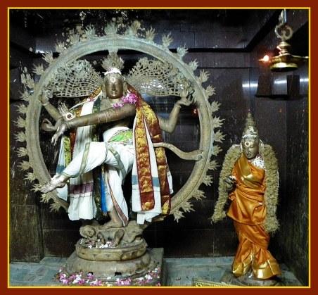 Big Bronze Nataraja and Mangalanayagi at Konerirajapuram
