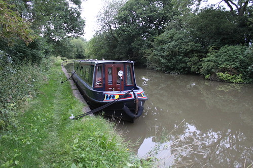 Moored up in the Dane Valley