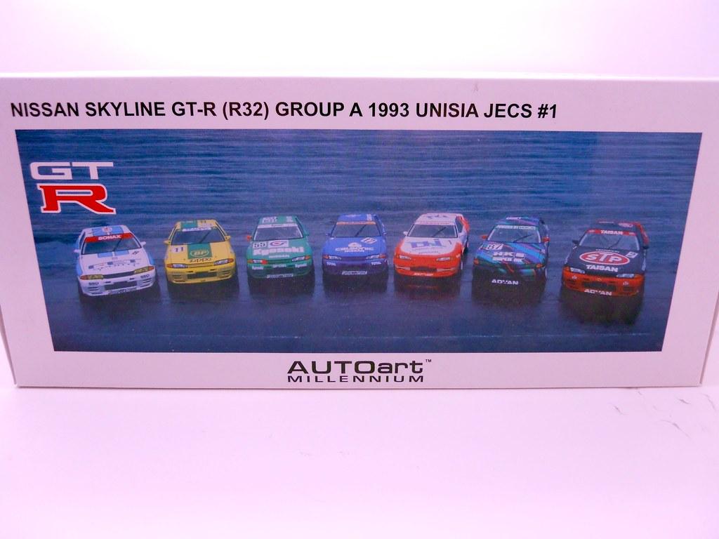 auto art unisia jecs nissan skyline R32 (3)