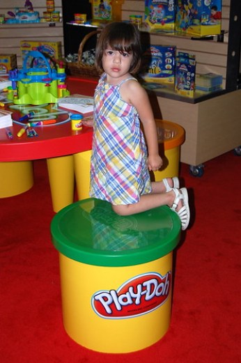 Play-Doh booth