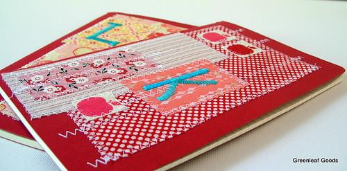Moleskine journals for Laura and Karen