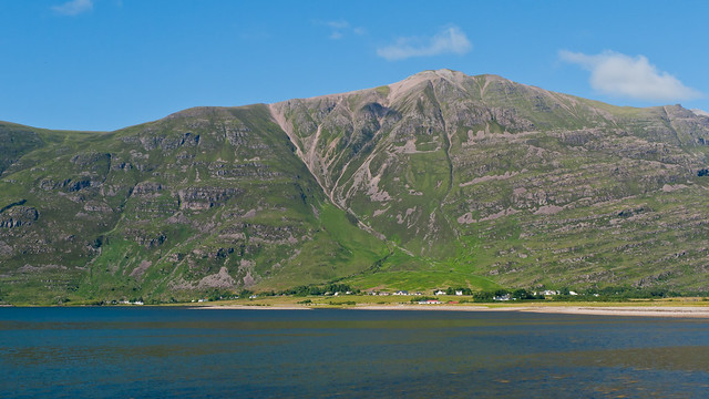 Liathach towering above Loch Torridon