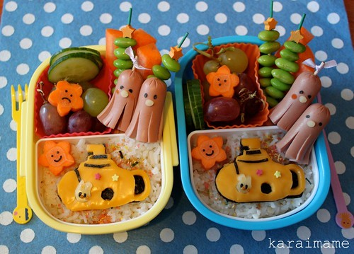 Yellow Submarine bento
