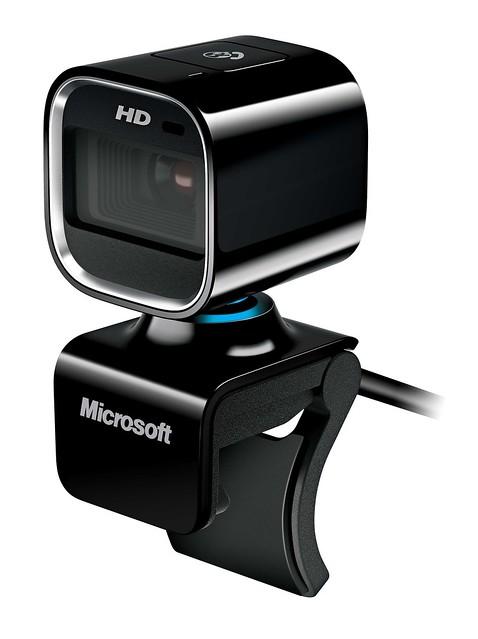 Camera chuan HD - Lifecam 6000 co kha nang cho hinh anh chat luong va ro net trong bong toi