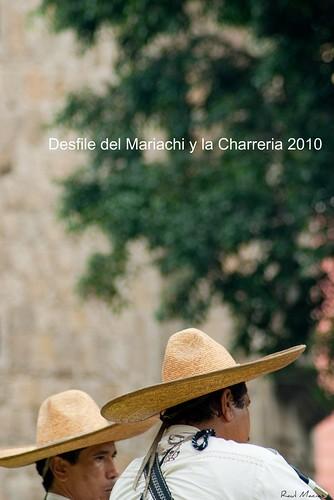 Desfile del Mariachi y la Charreria 2010