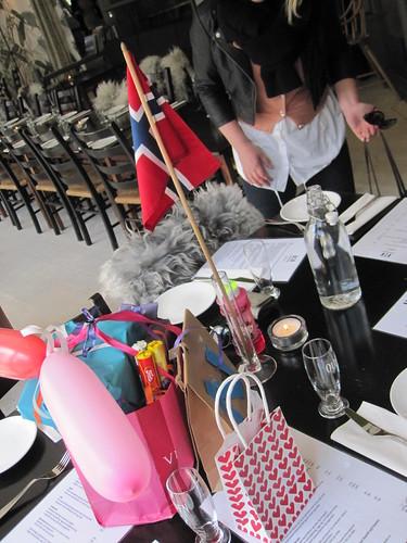 Bursdagsbordet