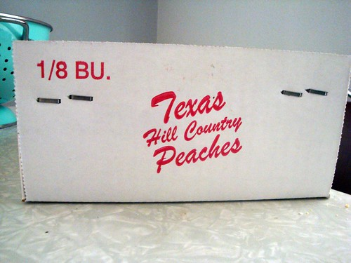 Texas Hill Country Peaches