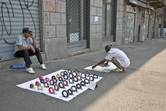 African street sellers