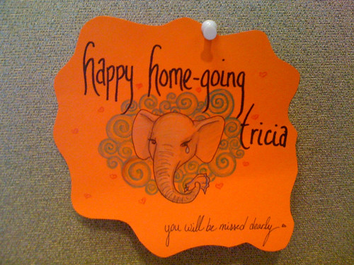 Happy Home-going, sweet Tricia