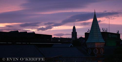 Sunset in Cork City