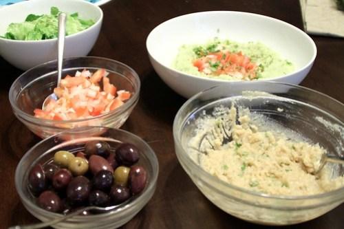 vegetarian greek dinner