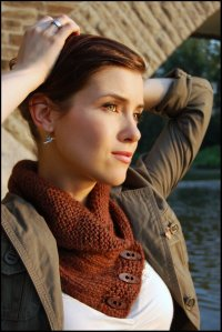 Never Not Knitting: Shawl Collared Cowl